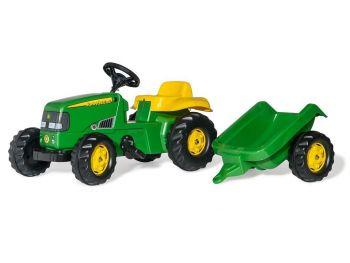 Rolly Toys Traktor z prikolico John Deere 012190