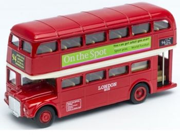 Kovinski model avta Welly London Bus