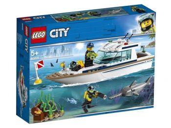 LEGO City Potapljaška jahta 60221