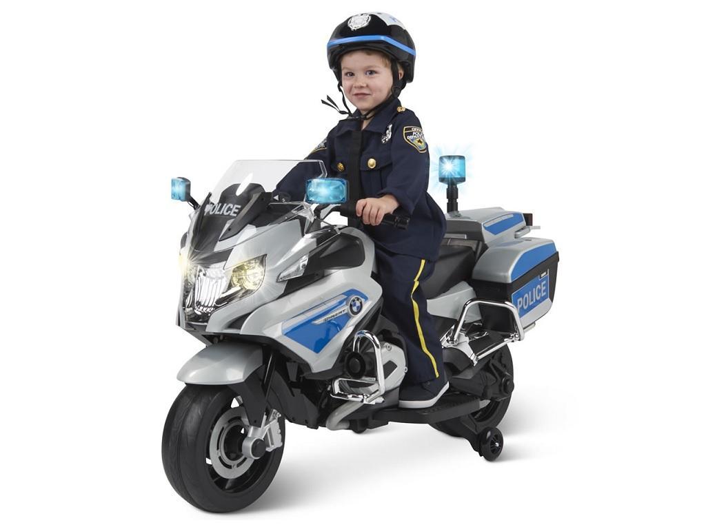 Otroški Policijski motor na akumulator BMW 12V 45W
