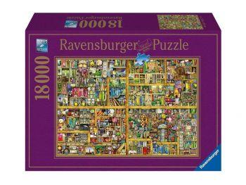 Puzzle - sestavljanka Knjižne police 18000 kosov