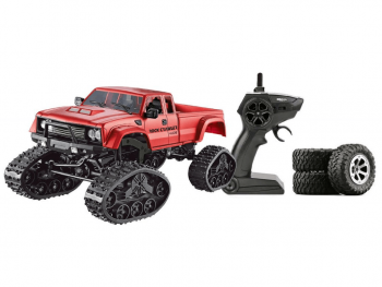 Pickup Rock Crawler 4WD 2.4GHz Red