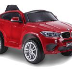 Otroški avto na akumulator BMW X6M - enosed -lakiran
