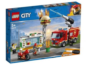 LEGO City 60214 Požar v kiosku s hamburgerji