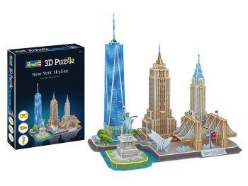 Puzzle sestavljanka 3D Revell New York Skyline