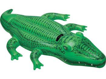 Intex Napihljiv krokodil 58546