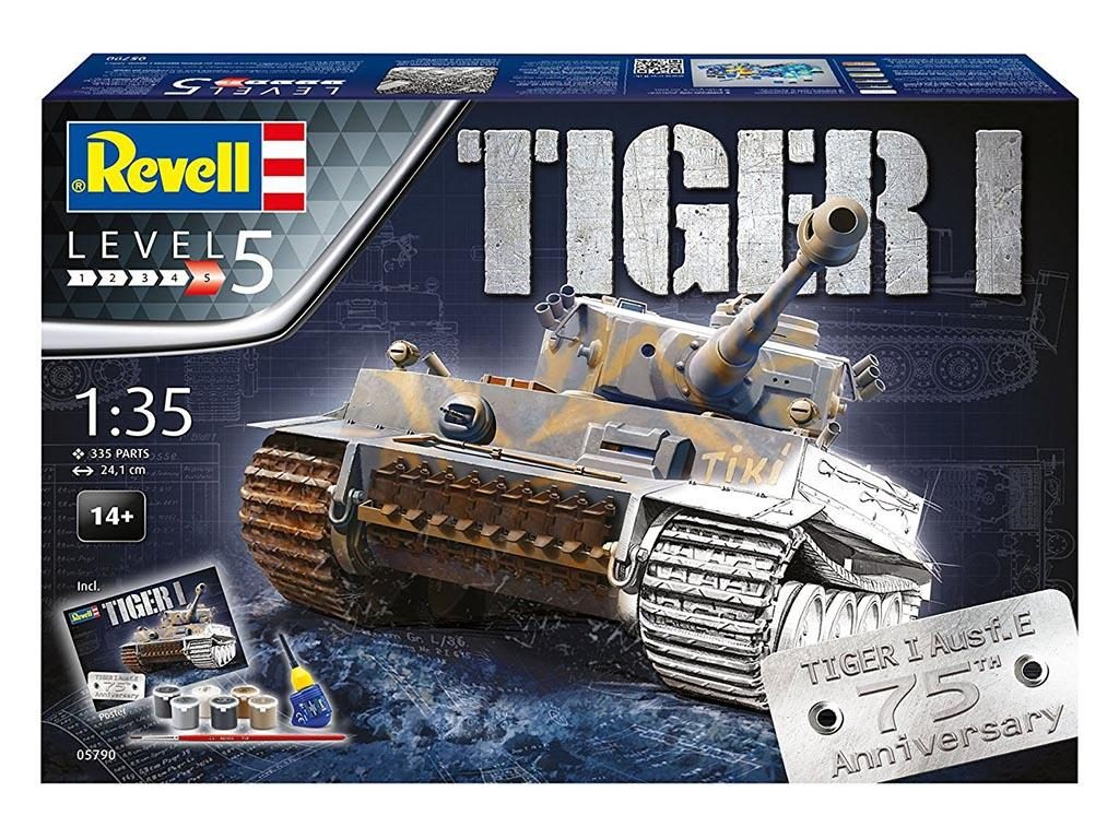 Revell-makete-tank-tiger-4