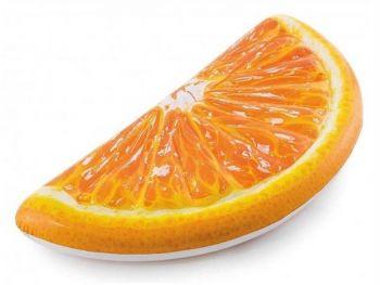 Intex Napihljiva blazina v obliki rezine pomaranče