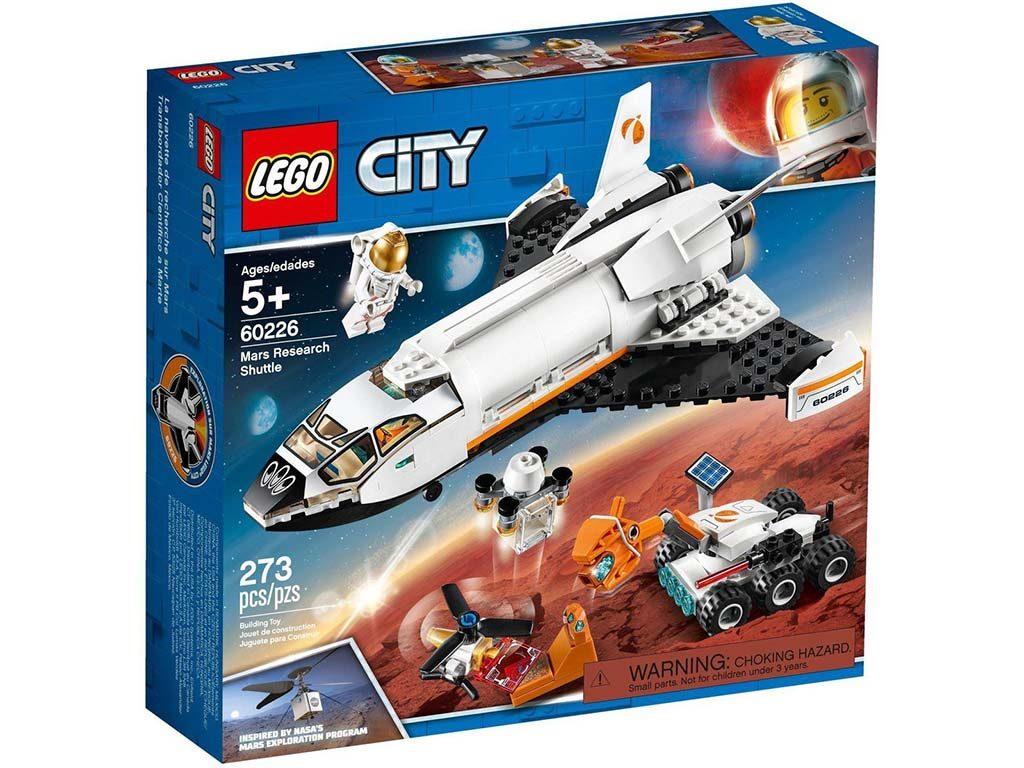 LEGO-kocke-City-60226-Space-Shuttle-Raziskovanje-Marsa-1