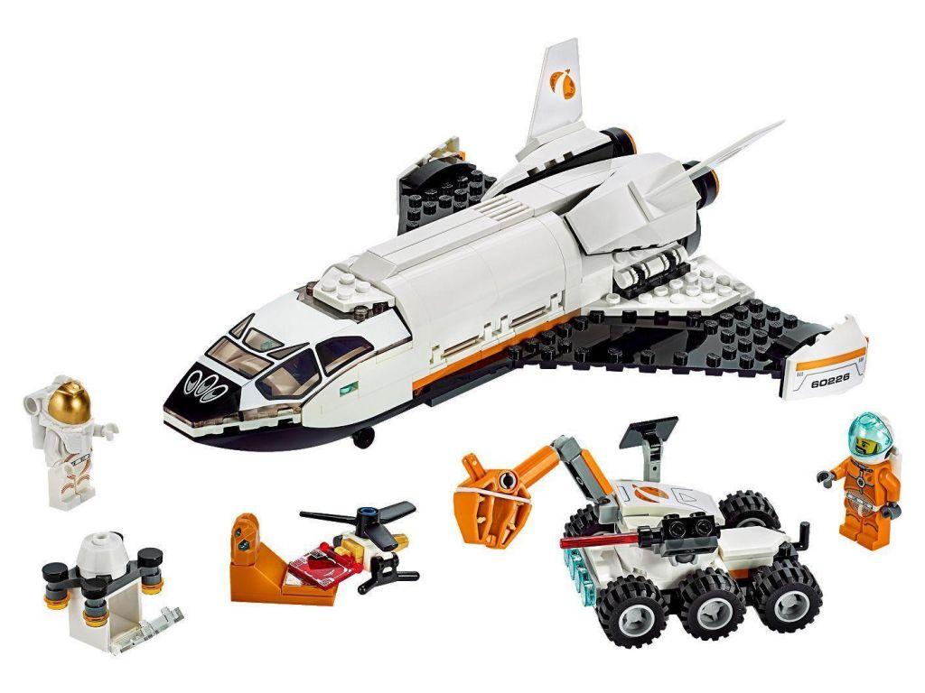 LEGO-kocke-City-60226-Space-Shuttle-Raziskovanje-Marsa-2