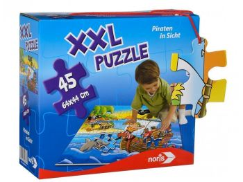 Puzzle za najmlajše XXL Noris Pirati