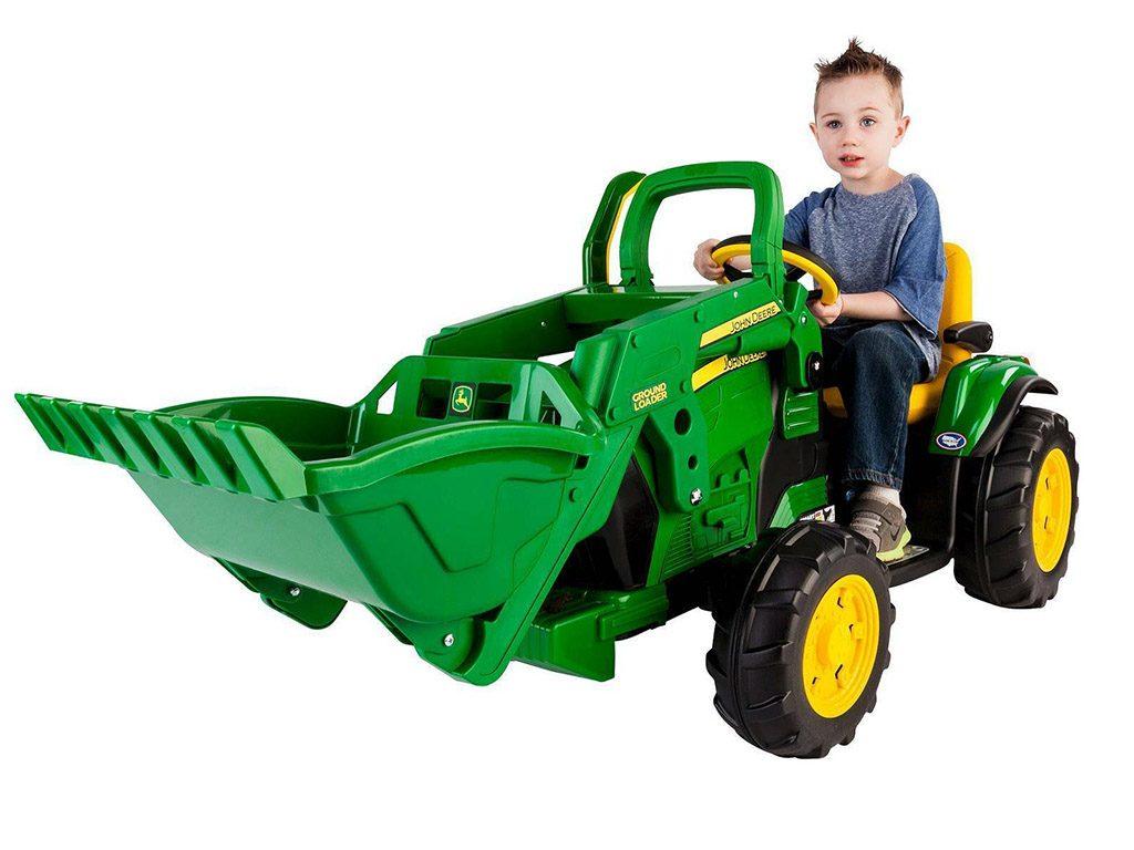 otroski-traktor-Peg-Perego-John-Deere-Ground-loader-3