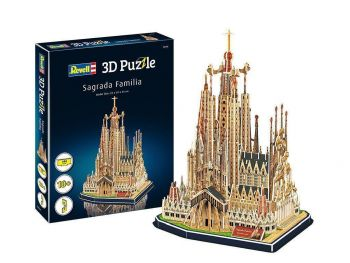Puzzle sestavljanka 3D Revell katedrala Sagrada Familia