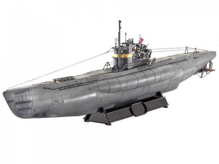 Revell maketa German Submarine TYPE VII C41 Atlantic Version 05100 4