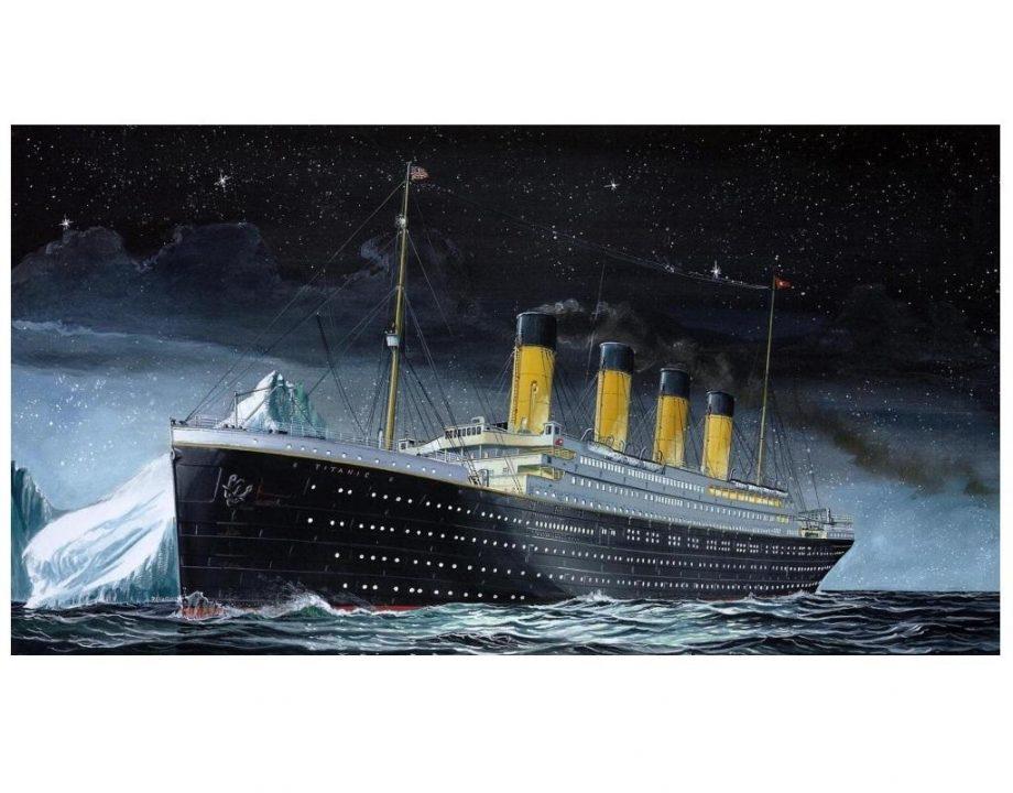 Revell maketa R.M.S. Titanic 05804 2