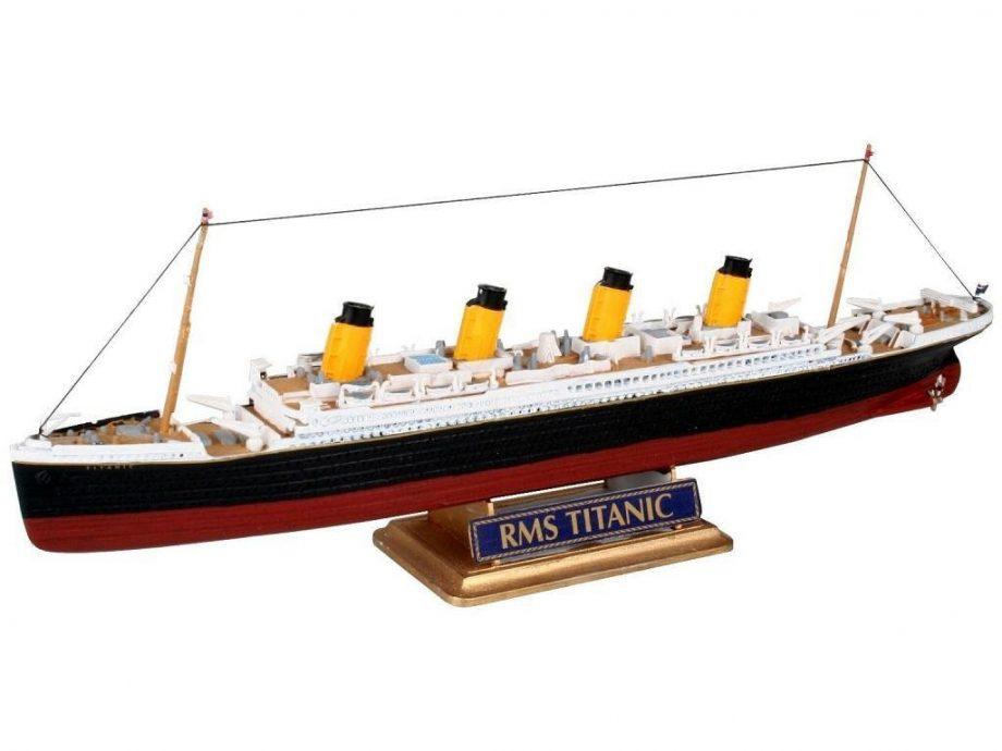 Revell maketa R.M.S. Titanic 05804 4