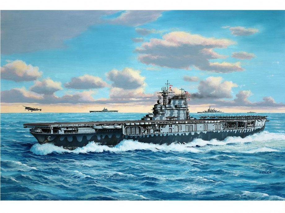 Revell maketa Tirpitz 05822 3