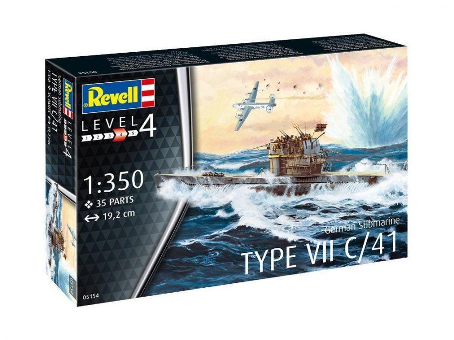 Revell maketa U-Boot Typ VII C41 05154 3