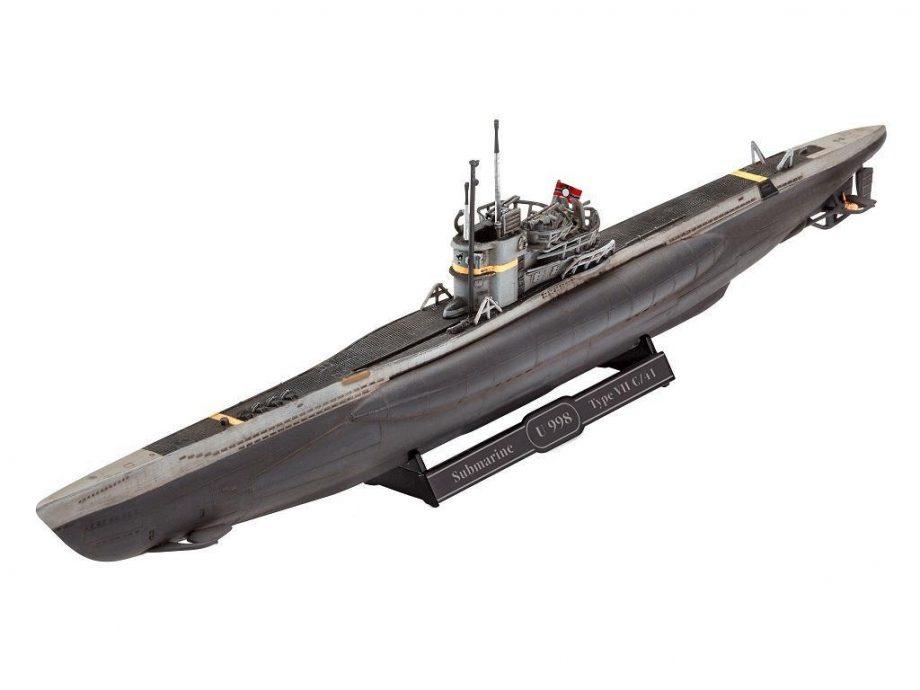 Revell maketa U-Boot Typ VII C41 05154 4