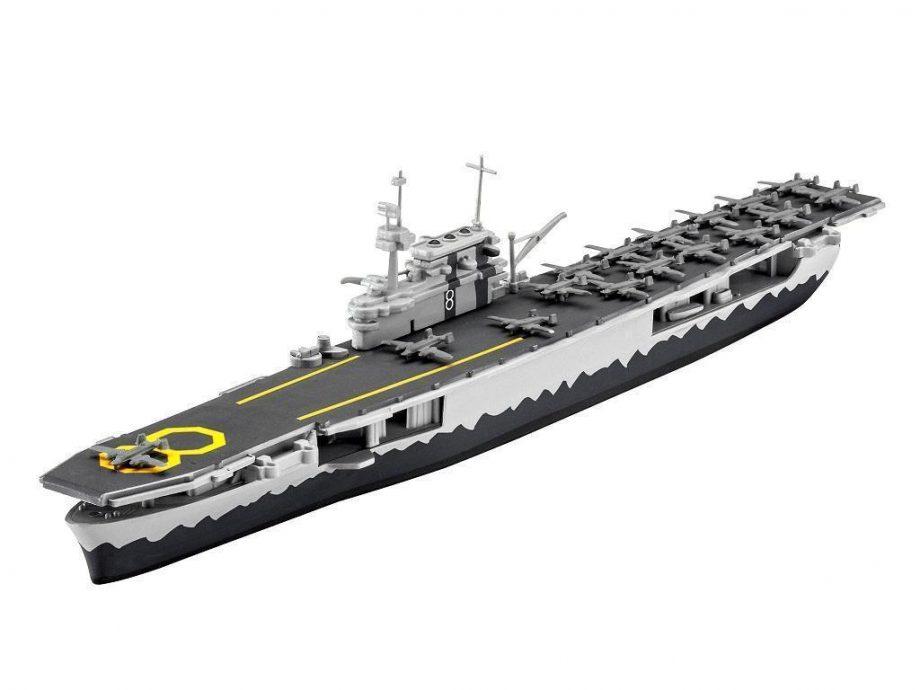 Revell maketa USS Hornet 05823 2