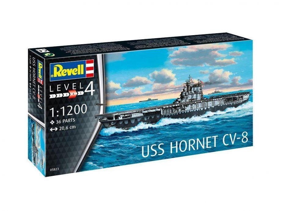 Revell maketa USS Hornet 05823
