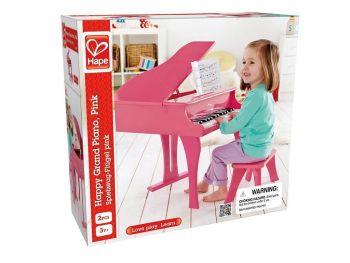Hape klavir - roza E0319