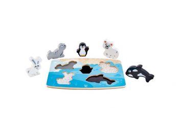 Hape Puzzle arktične živali E1620