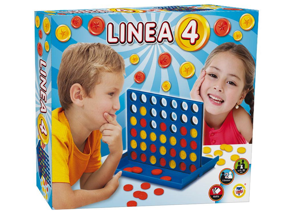 Družabna igra štiri v vrsto