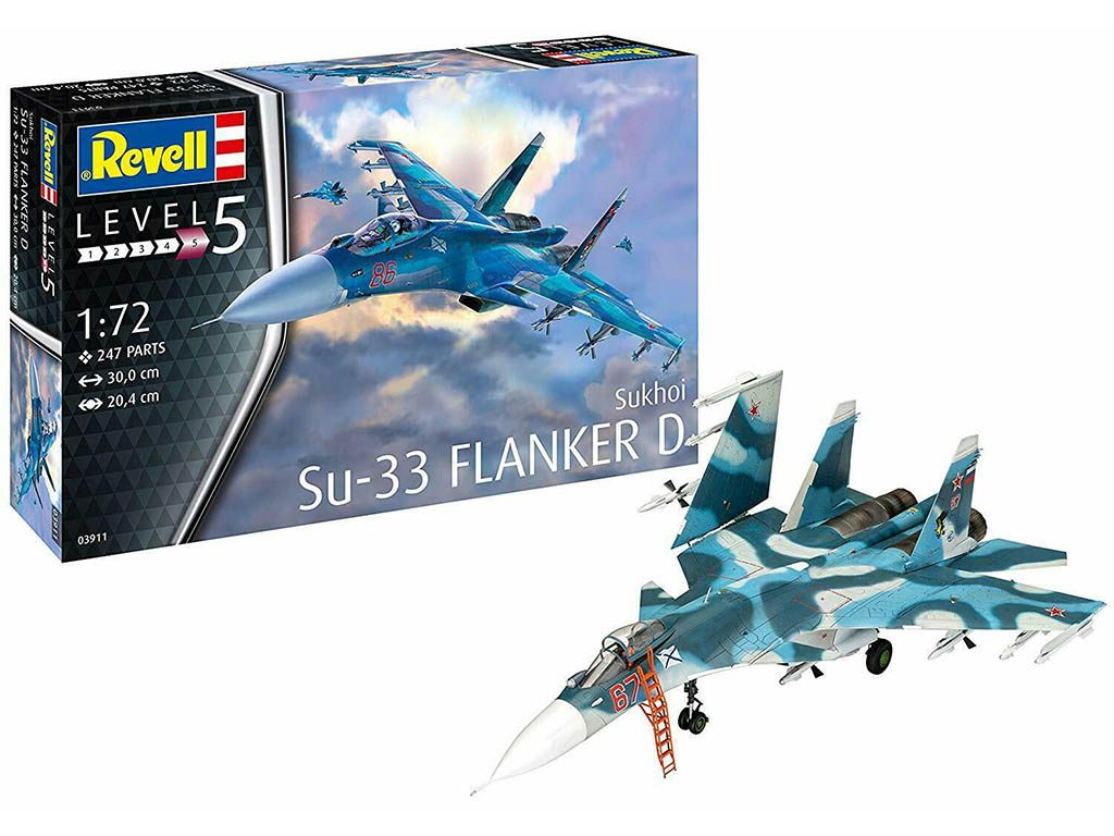 maketa-03911-Revell-Sukhoi-Su-33-Flanker-D-2
