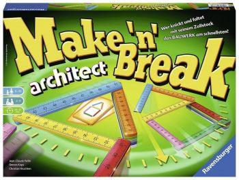 Družabna igra Zgradi in podri arhitekt