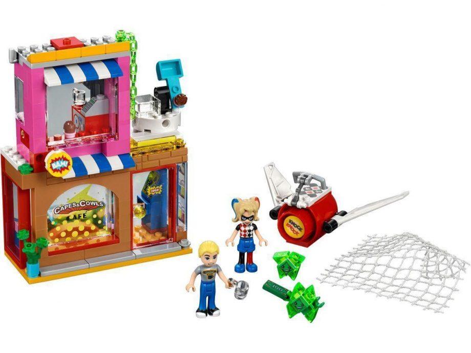 LEGO kocke Super Heroes Harley Quinn na pomoč 41231 1