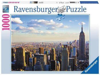 Sestavljanka Manhattan zjutraj Ravensburger 1000 delna 191147