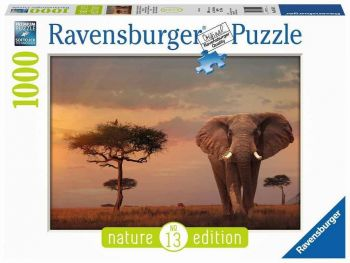 Sestavljanka Slon v nacionalnem parku Masai Mara Ravensburger