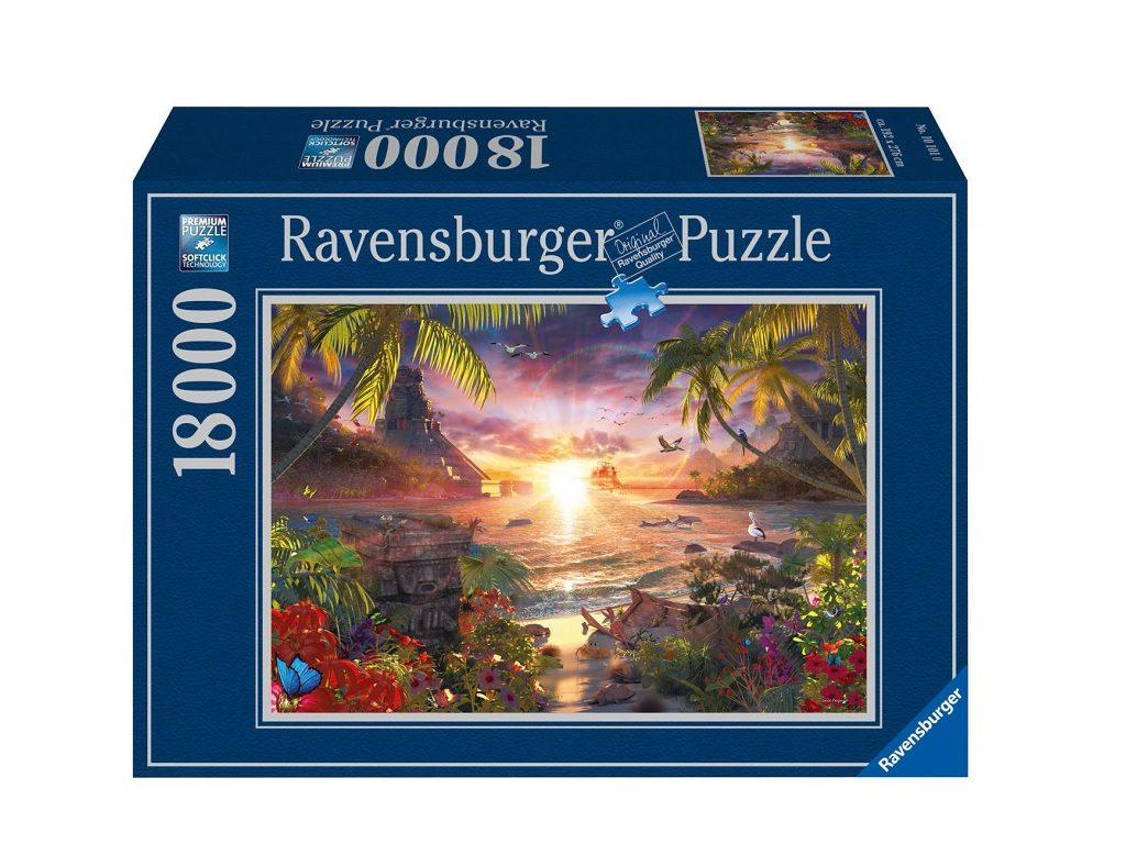 Ravensburger 18000 delna sestavljanka Sončni zahod