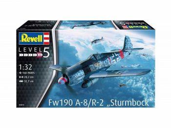 """Revell maketa vojaškega letala Fw190 A-8 """"Rammjäger"""" - 220 03874"""