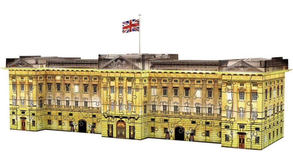 Sestavljanka 3D Buckinghamska palača night edition 125296 1