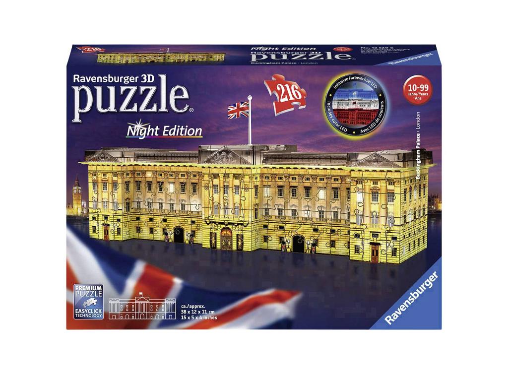 Sestavljanka 3D Buckinghamska palača night edition 125296