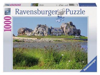 Sestavljanka Hiša v Bretanji Ravensburger 1000 delna