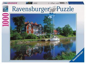 Sestavljanka Kanal Göta, Švedska Ravensburger 1000 delna