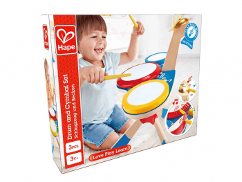 Hape Set bobnov in činel E0613