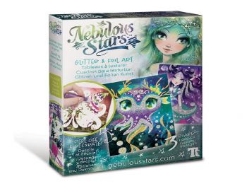 Nebulous Stars Glitter in folija art
