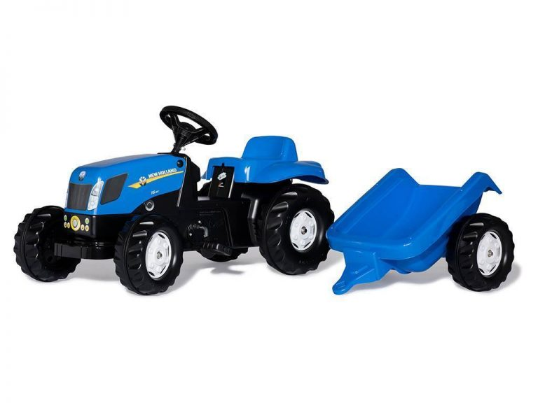 Traktor na pedala rollyKid New Holland