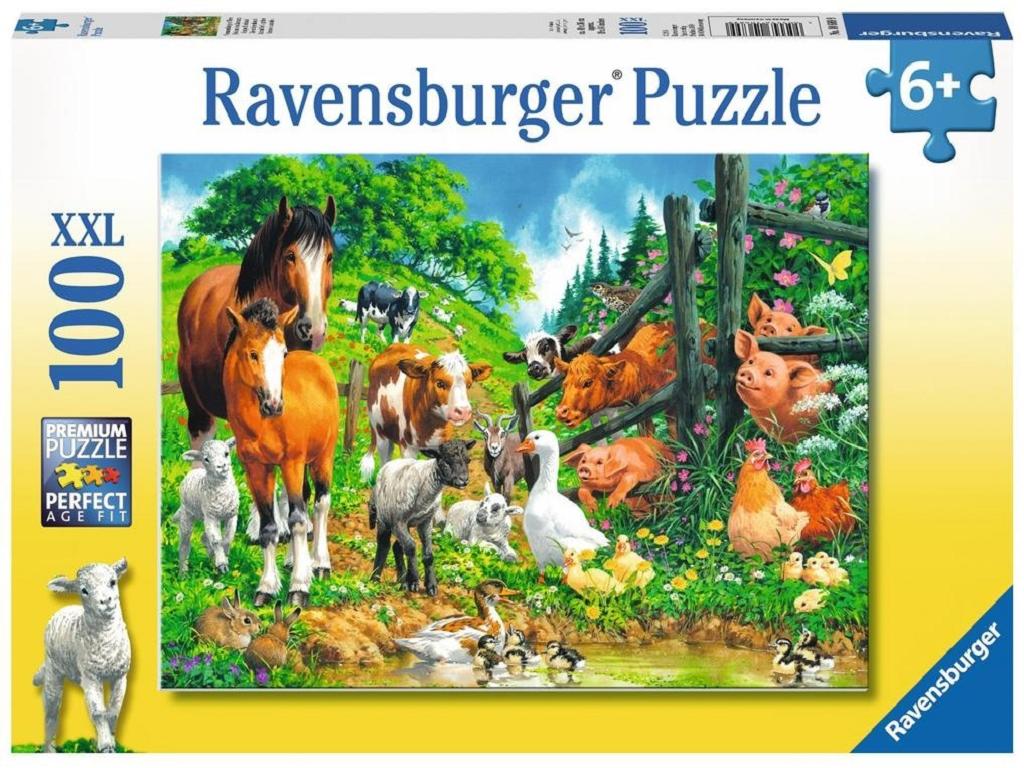 ravensburger domače živali na pašniku 106899