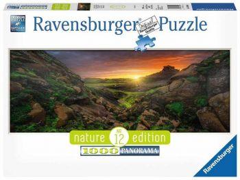 Sestavljanka Otok Zaliv Lofoten Ravensburger 1000 kosov