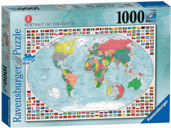 Sestavljanka Zemljevid Ravensburger 1000 kosov 152537