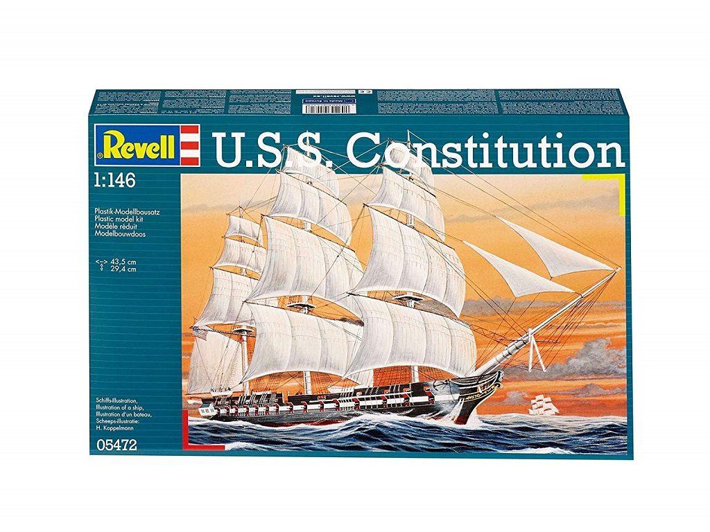 revell maketa ladje uss constitution 05472 1