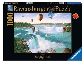 Sestavljanka Niagarski slapovi Ravensburger 1000 delna 198719