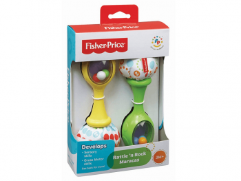 Fisher Price Ropotuljica maracas