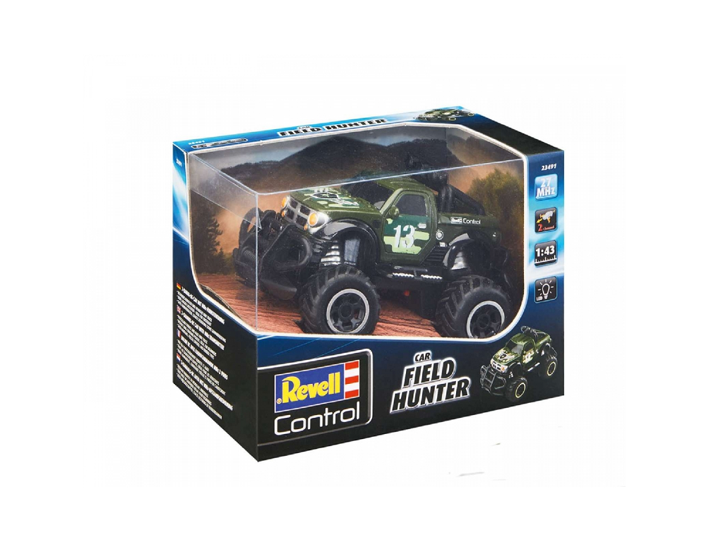 "Revell avto na daljinsko vodenje RC SUV ""Field Hunter"""