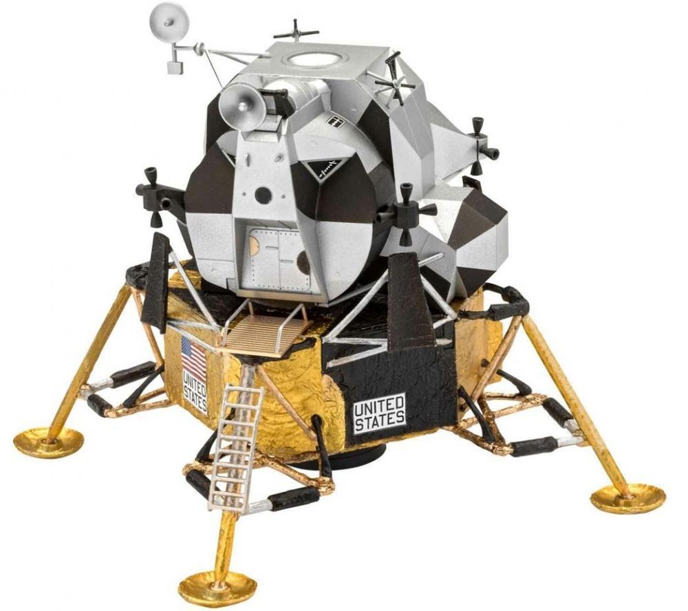 Revell model vesoljskega plovila Apollo 11 Lunar Module Eagle (50 Years Moon Landing) (z barvami) 03701 1